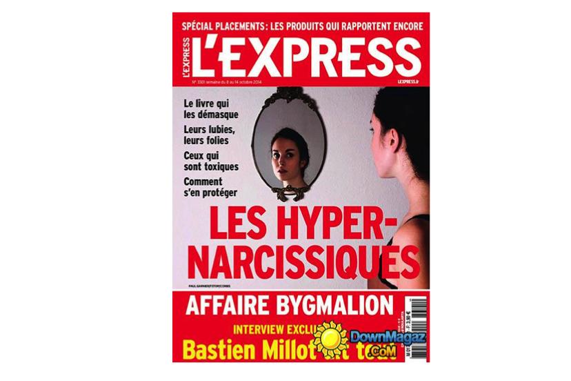 EXPERT is Me dans le dossier de l'Express sur les Hyper-Narcissiques (octobre 2014)
